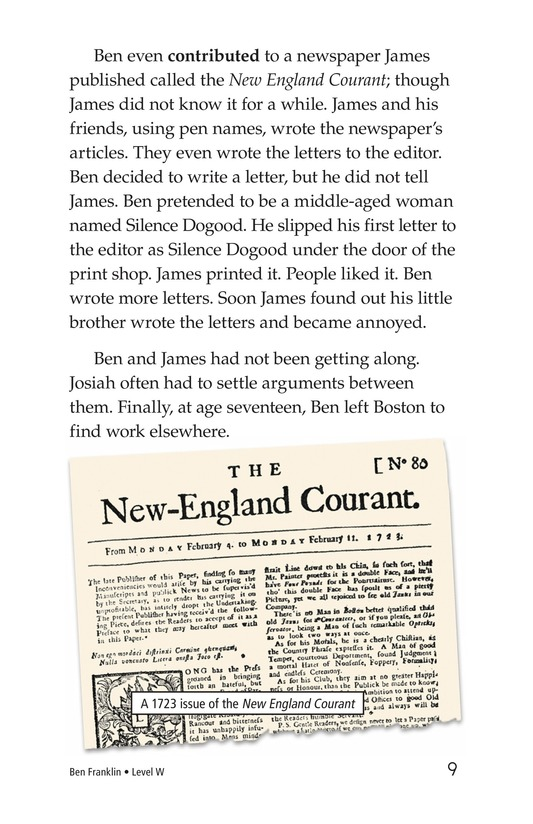 Book Preview For Ben Franklin Page 9