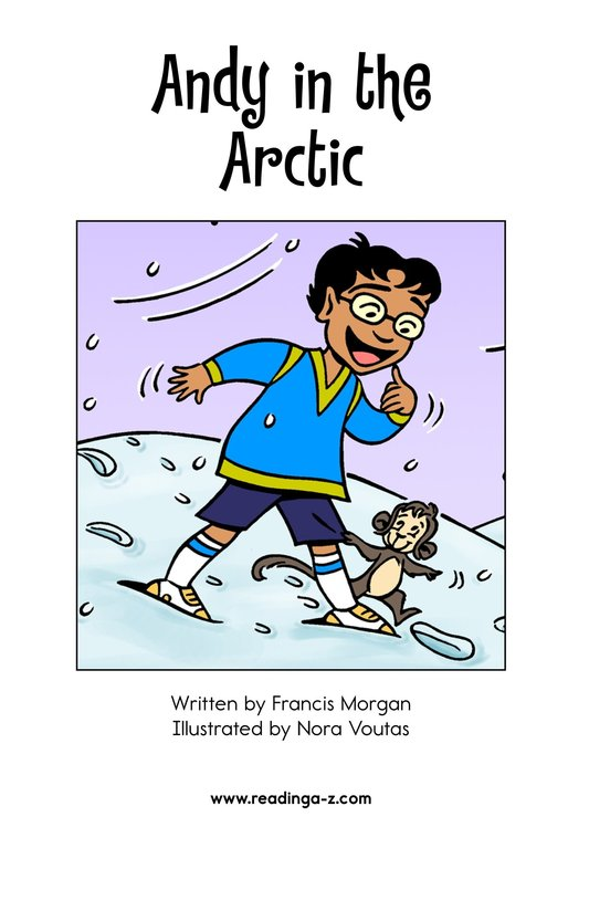 Book Preview For Andy in the Arctic Page 2