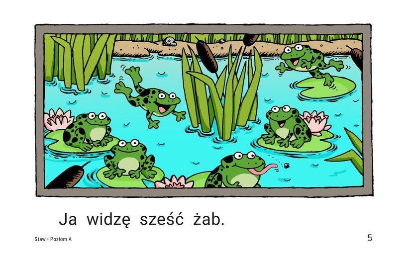 Book Preview For Pond Animals Page 5