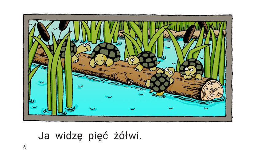 Book Preview For Pond Animals Page 6
