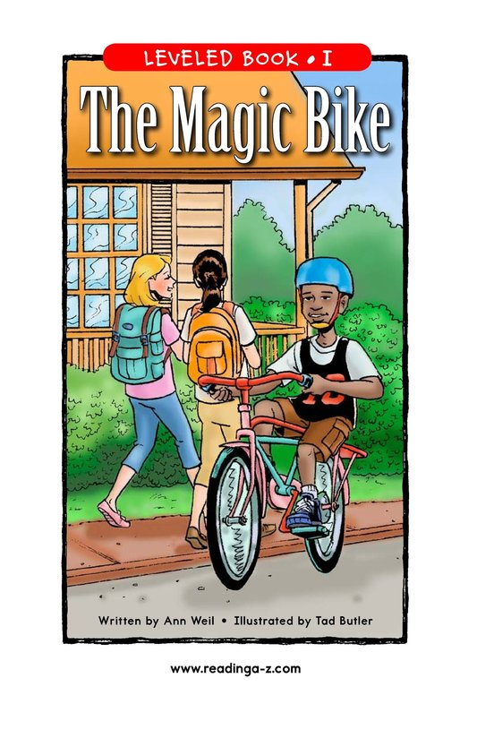 Book Preview For The Magic Bike Page 1