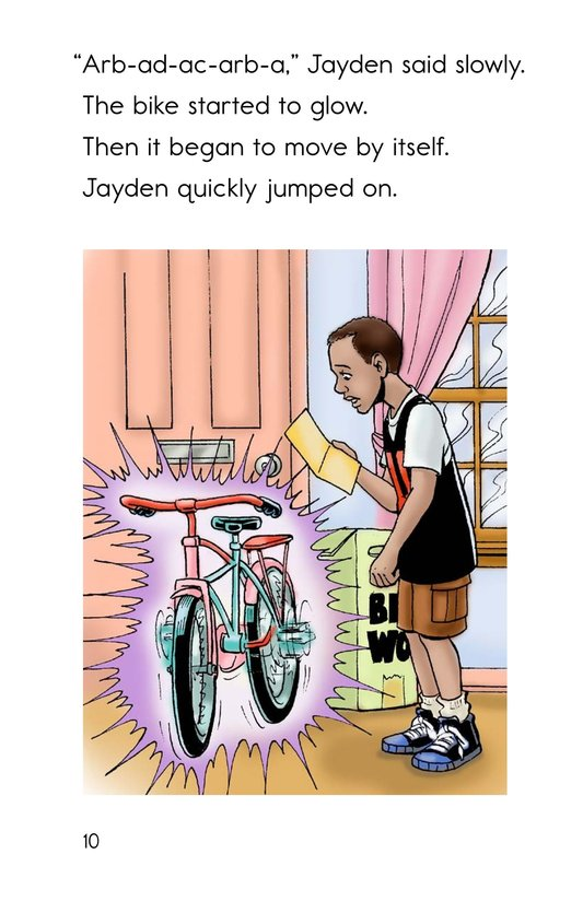 Book Preview For The Magic Bike Page 10