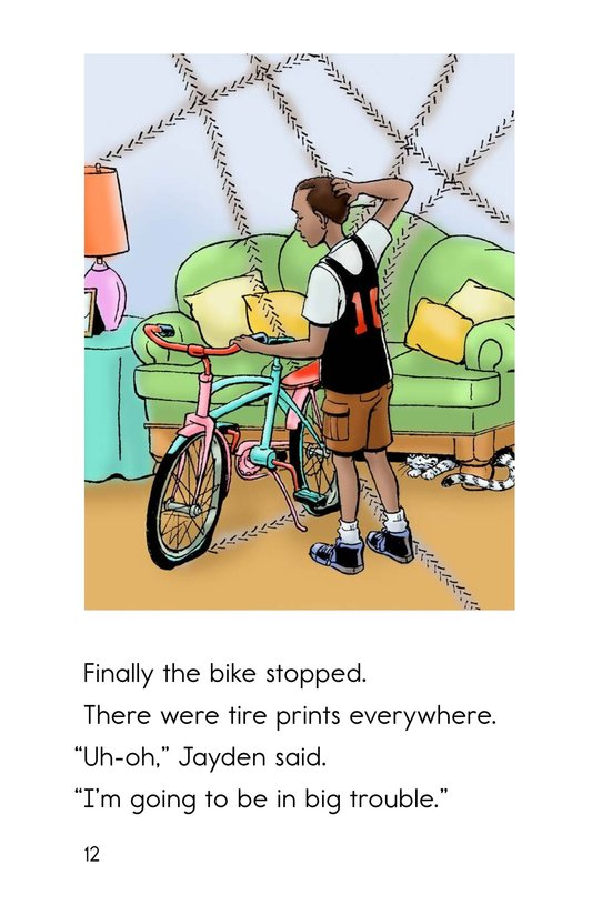 Book Preview For The Magic Bike Page 12