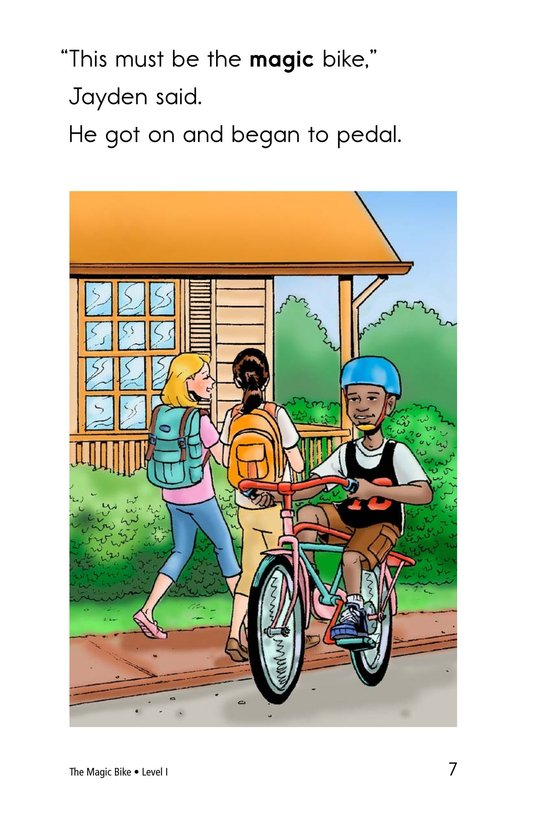 Book Preview For The Magic Bike Page 7