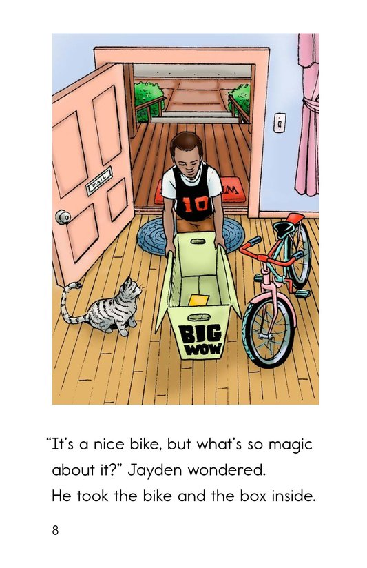 Book Preview For The Magic Bike Page 8