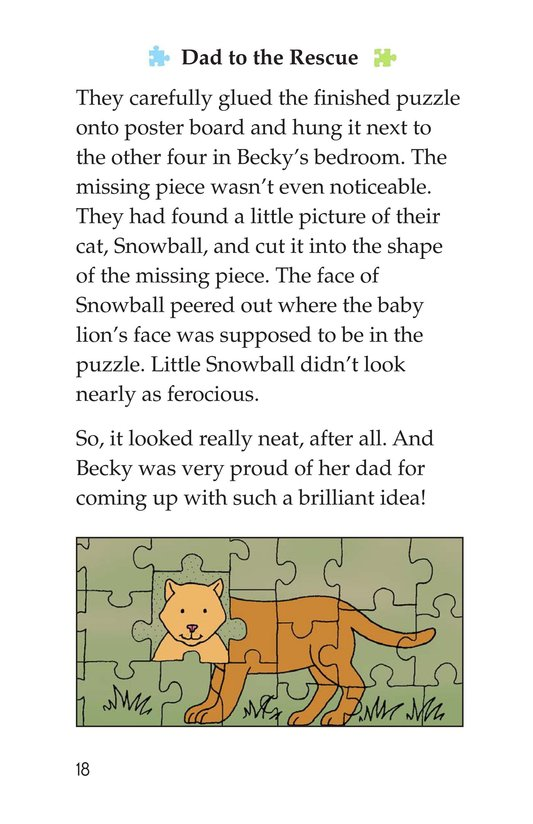 Book Preview For Becky's Puzzle Problem Page 18