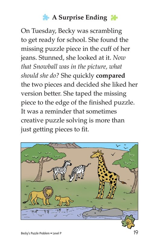 Book Preview For Becky's Puzzle Problem Page 19