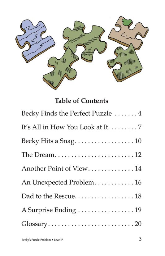 Book Preview For Becky's Puzzle Problem Page 3