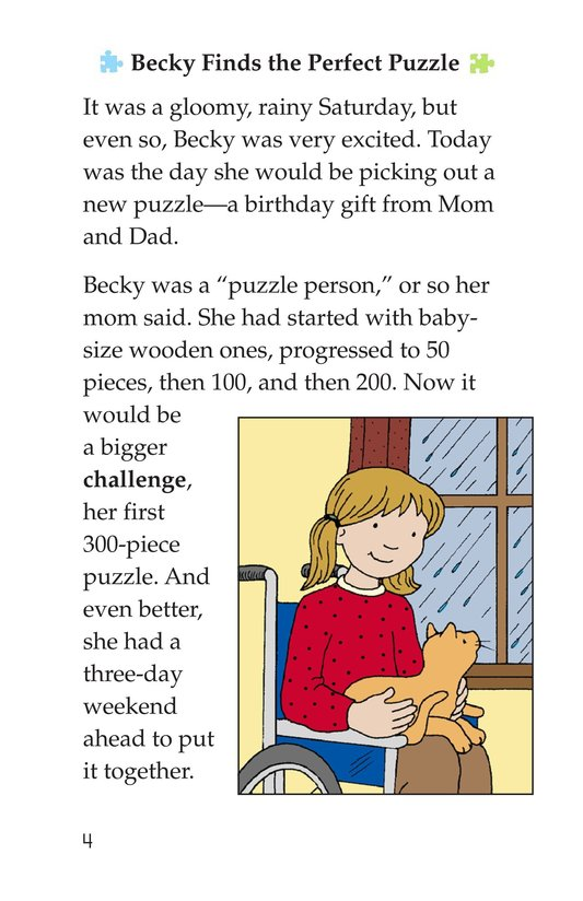 Book Preview For Becky's Puzzle Problem Page 4