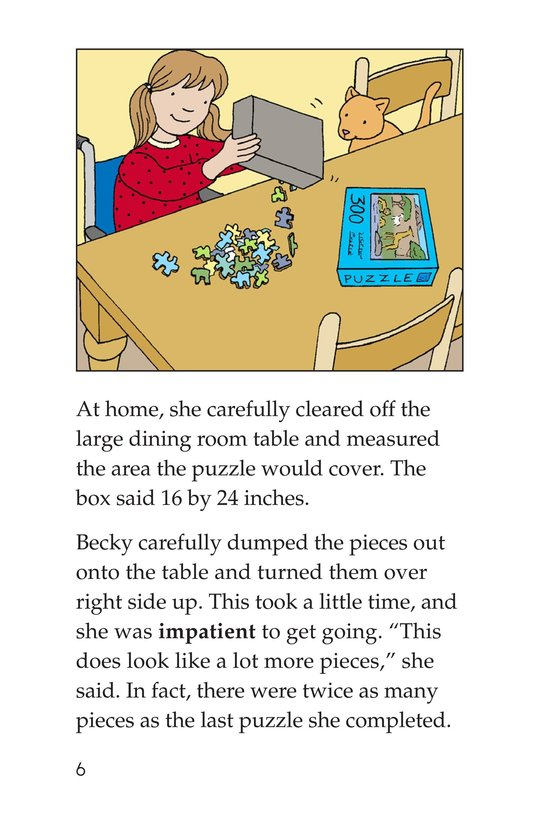 Book Preview For Becky's Puzzle Problem Page 6