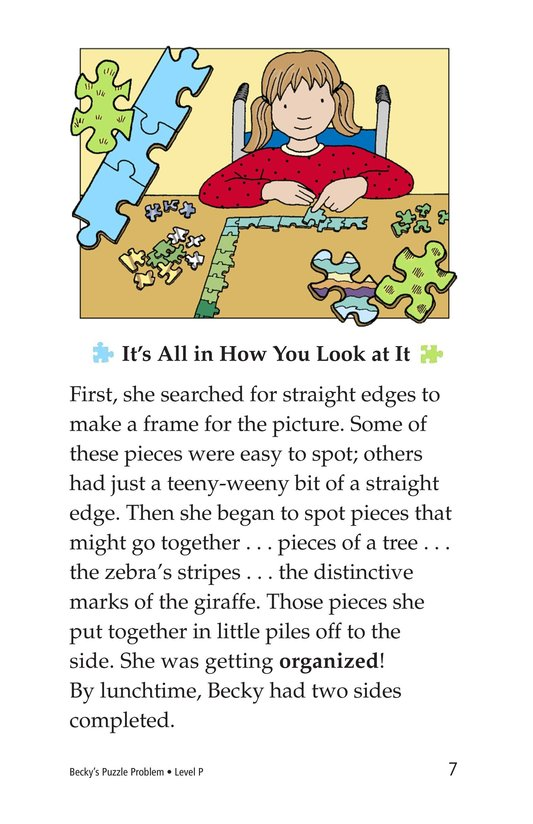 Book Preview For Becky's Puzzle Problem Page 7