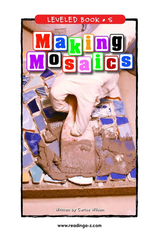 Book Preview For Making Mosaics Page 1