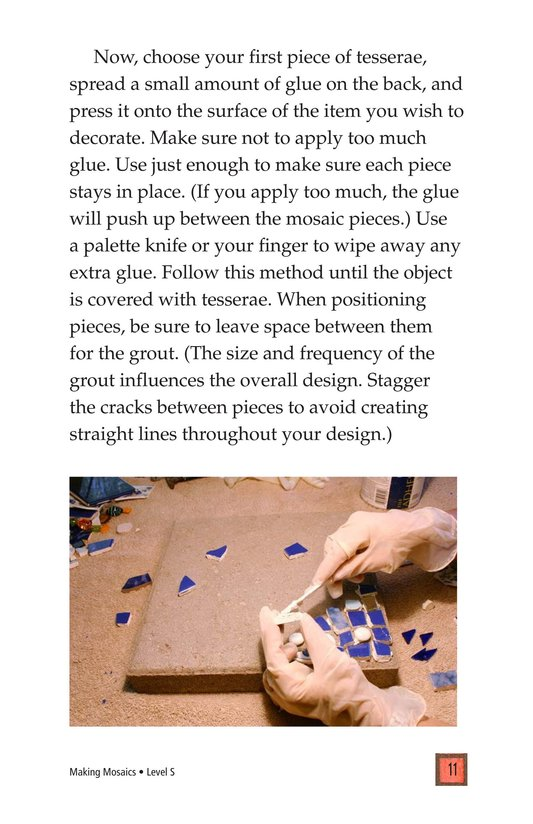 Book Preview For Making Mosaics Page 11