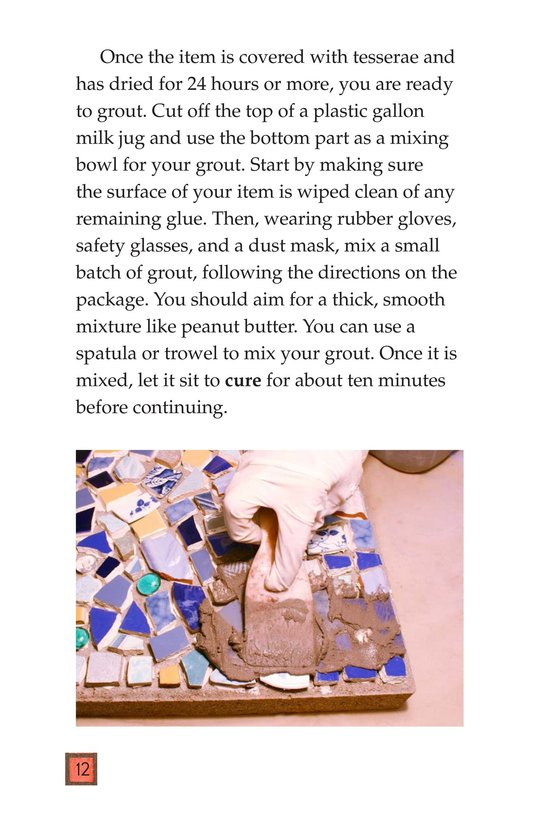 Book Preview For Making Mosaics Page 12