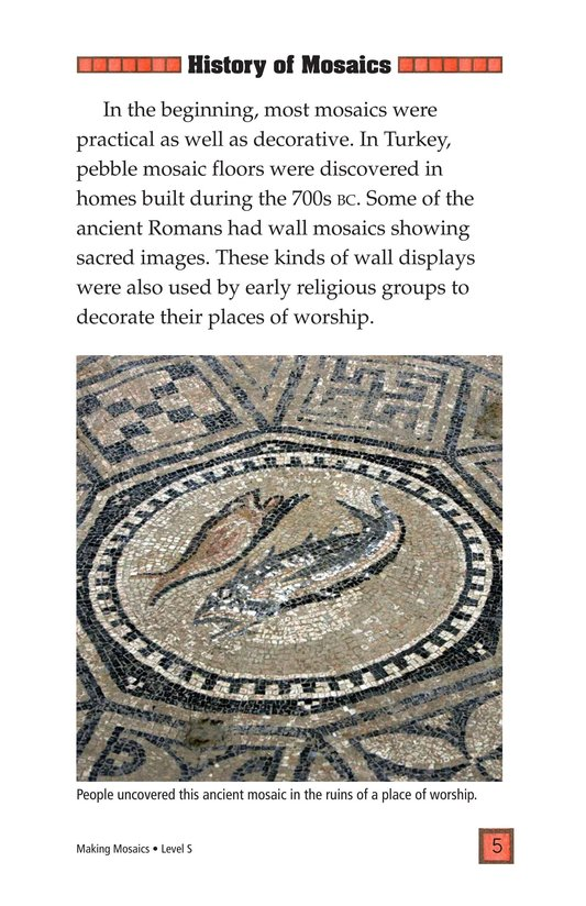 Book Preview For Making Mosaics Page 5