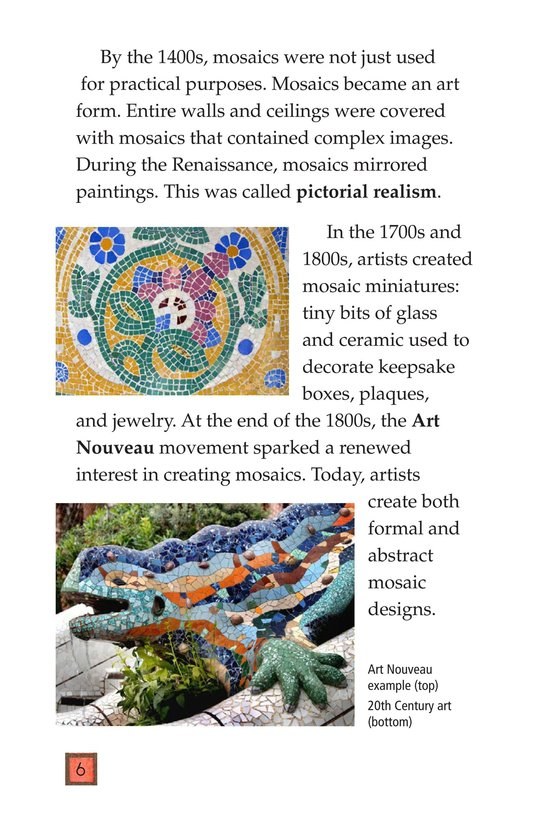 Book Preview For Making Mosaics Page 6