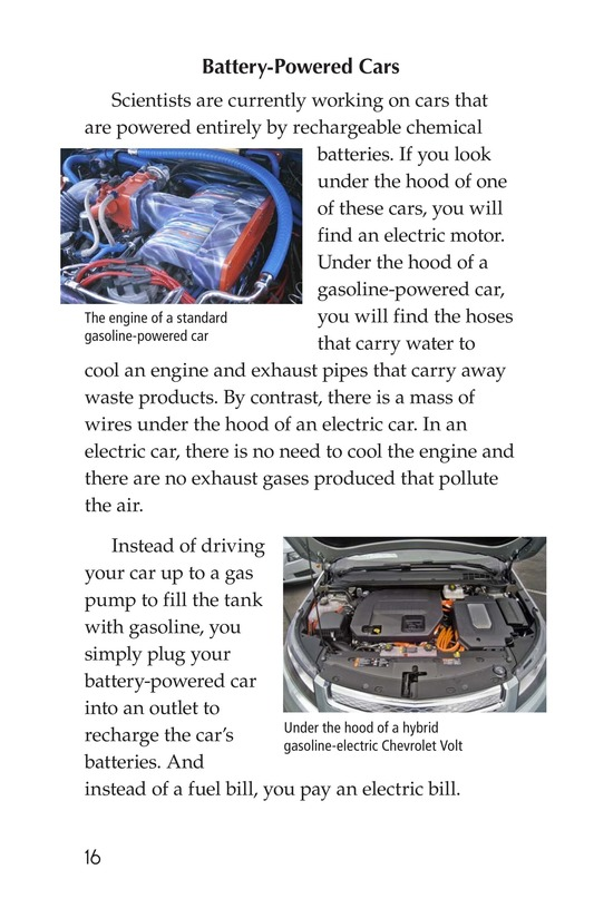Book Preview For Alternative Fuel Cars Page 16