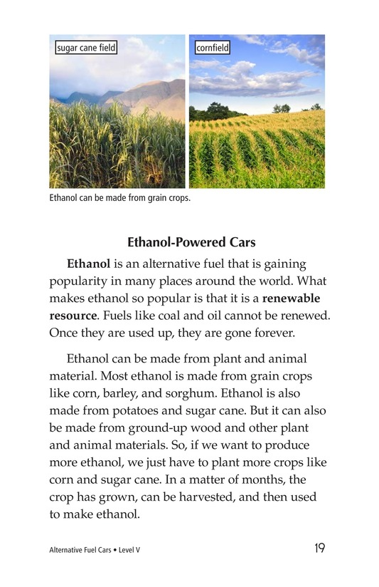 Book Preview For Alternative Fuel Cars Page 19