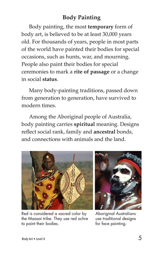 Book Preview For Body Art Page 5