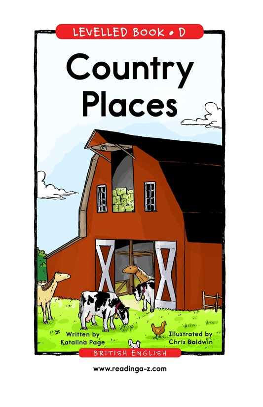 Book Preview For Country Places Page 1