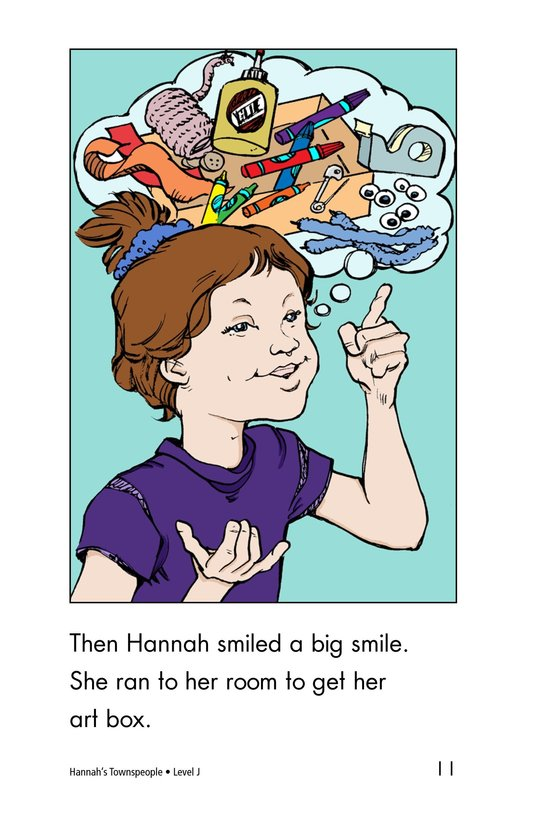 Book Preview For Hannah's Townspeople Page 11