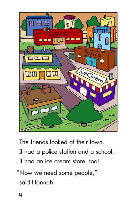Book Preview For Hannah's Townspeople Page 4
