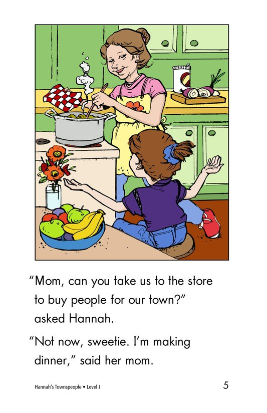 Book Preview For Hannah's Townspeople Page 5