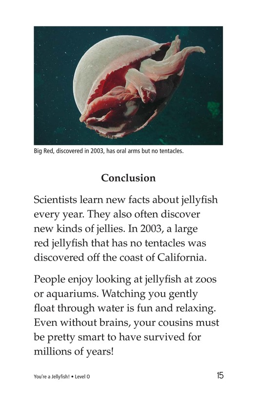 Book Preview For You're a Jellyfish! Page 15