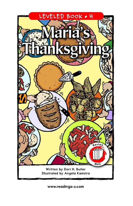 Book Preview For Maria's Thanksgiving Page 1