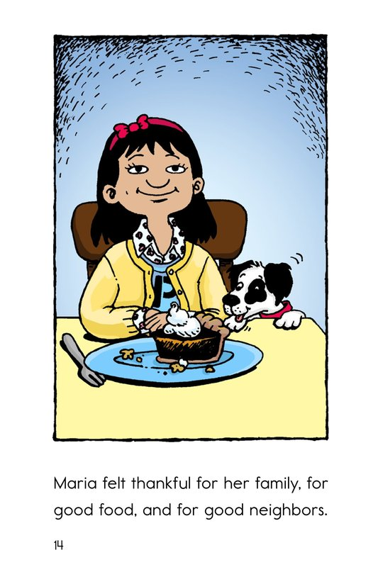 Book Preview For Maria's Thanksgiving Page 14