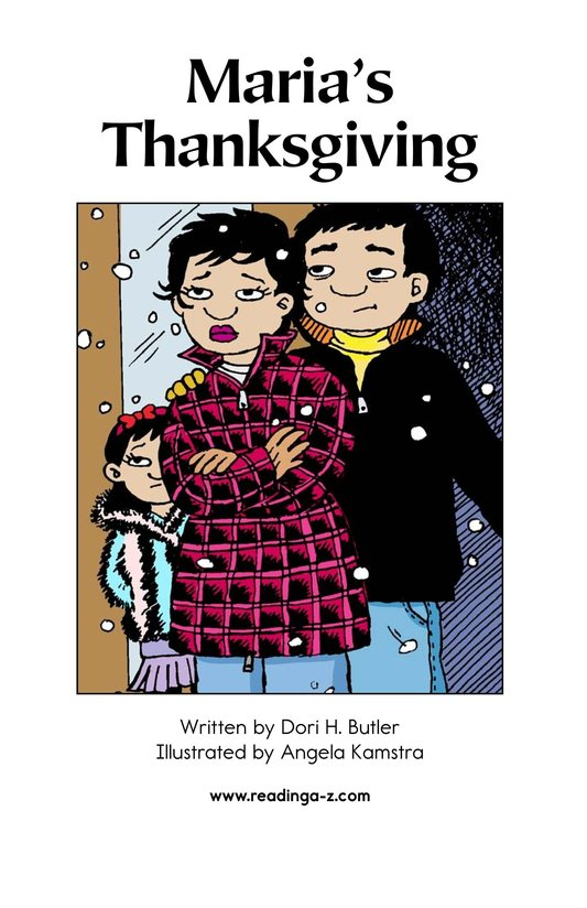 Book Preview For Maria's Thanksgiving Page 2