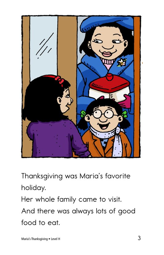 Book Preview For Maria's Thanksgiving Page 3
