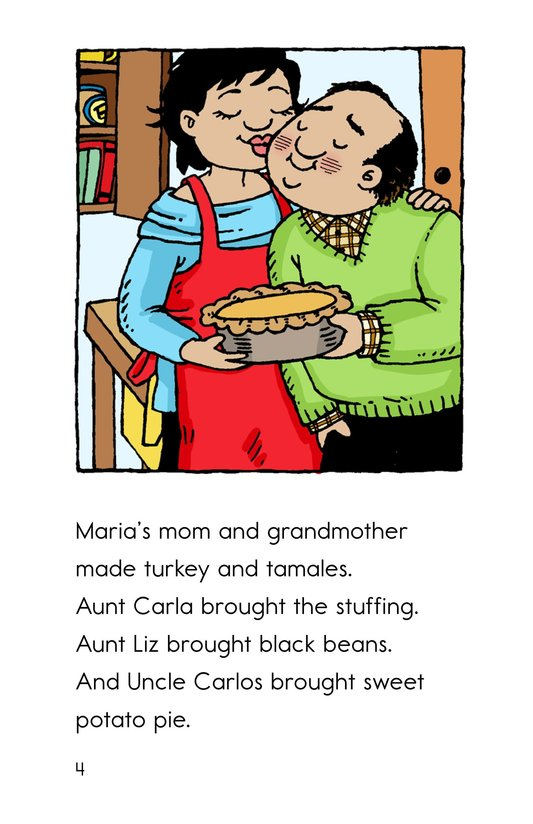 Book Preview For Maria's Thanksgiving Page 4