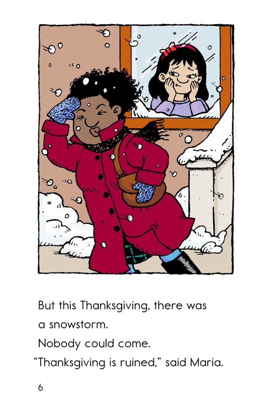 Book Preview For Maria's Thanksgiving Page 6