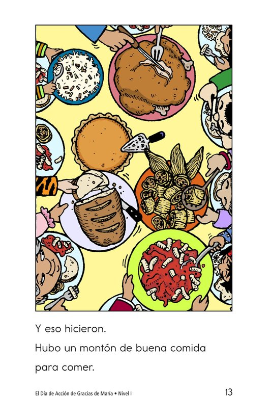 Book Preview For Maria's Thanksgiving Page 13