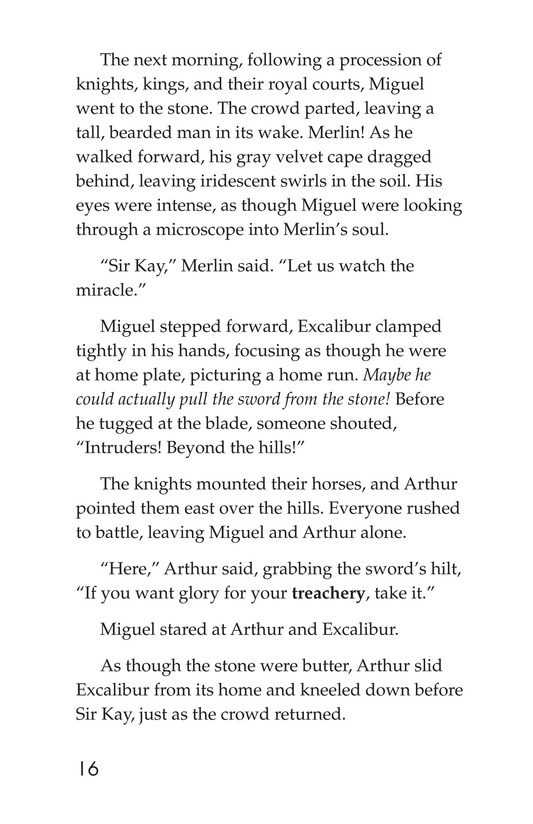 Book Preview For Miguel and King Arthur Page 16
