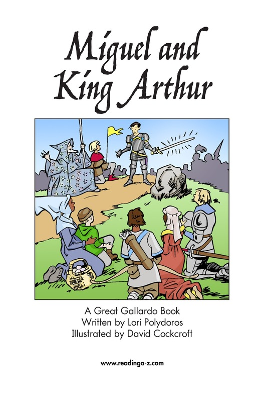Book Preview For Miguel and King Arthur Page 2