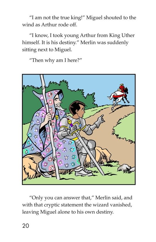 Book Preview For Miguel and King Arthur Page 20