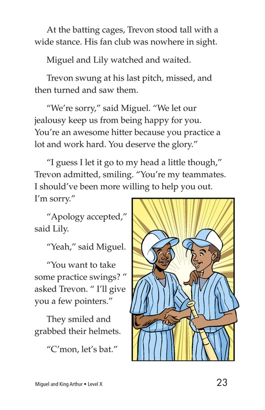 Book Preview For Miguel and King Arthur Page 23