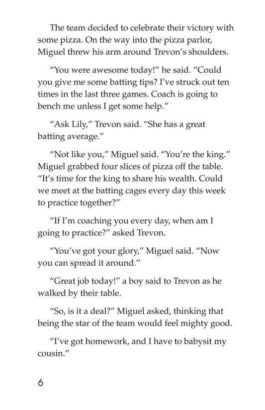 Book Preview For Miguel and King Arthur Page 6