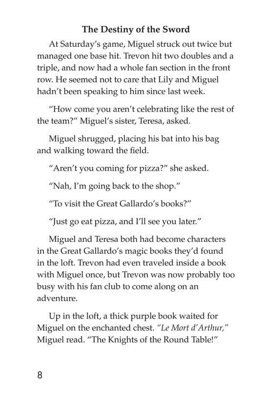 Book Preview For Miguel and King Arthur Page 8
