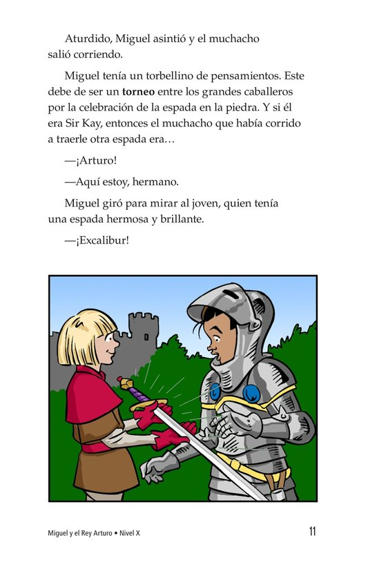 Book Preview For Miguel and King Arthur Page 11