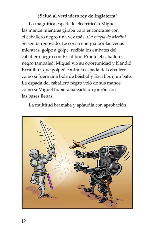 Book Preview For Miguel and King Arthur Page 12