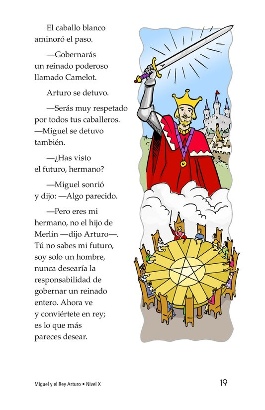 Book Preview For Miguel and King Arthur Page 19
