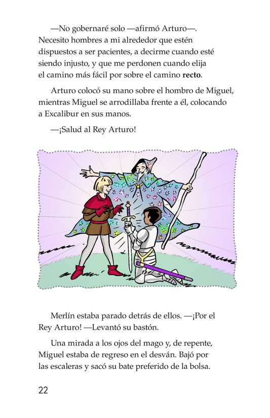 Book Preview For Miguel and King Arthur Page 22