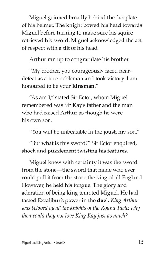 Book Preview For Miguel and King Arthur Page 13