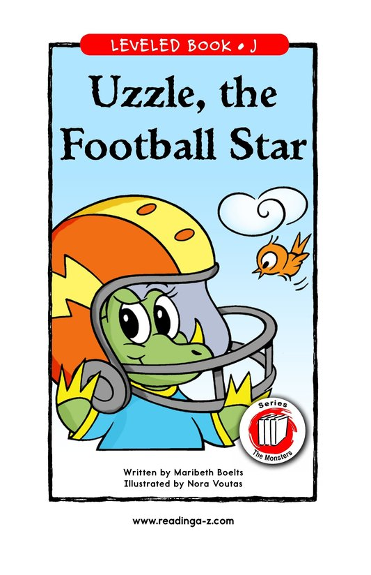 Book Preview For Uzzle, The Football Star Page 1