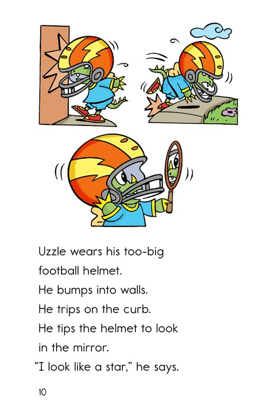 Book Preview For Uzzle, The Football Star Page 10