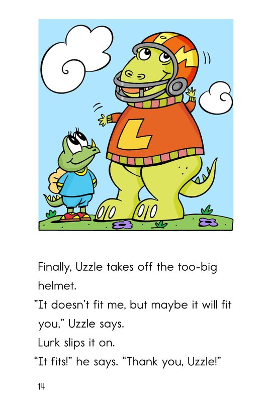 Book Preview For Uzzle, The Football Star Page 14
