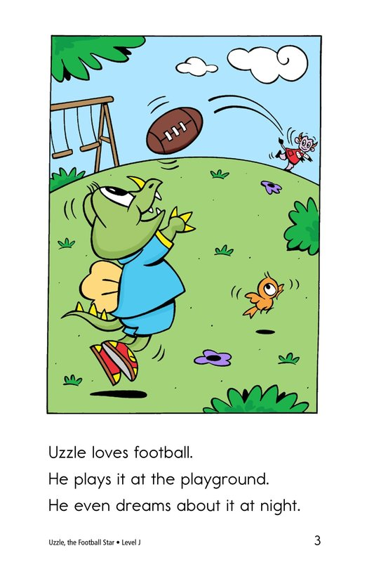Book Preview For Uzzle, The Football Star Page 3